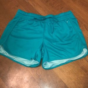 Teal Athletic Shorts